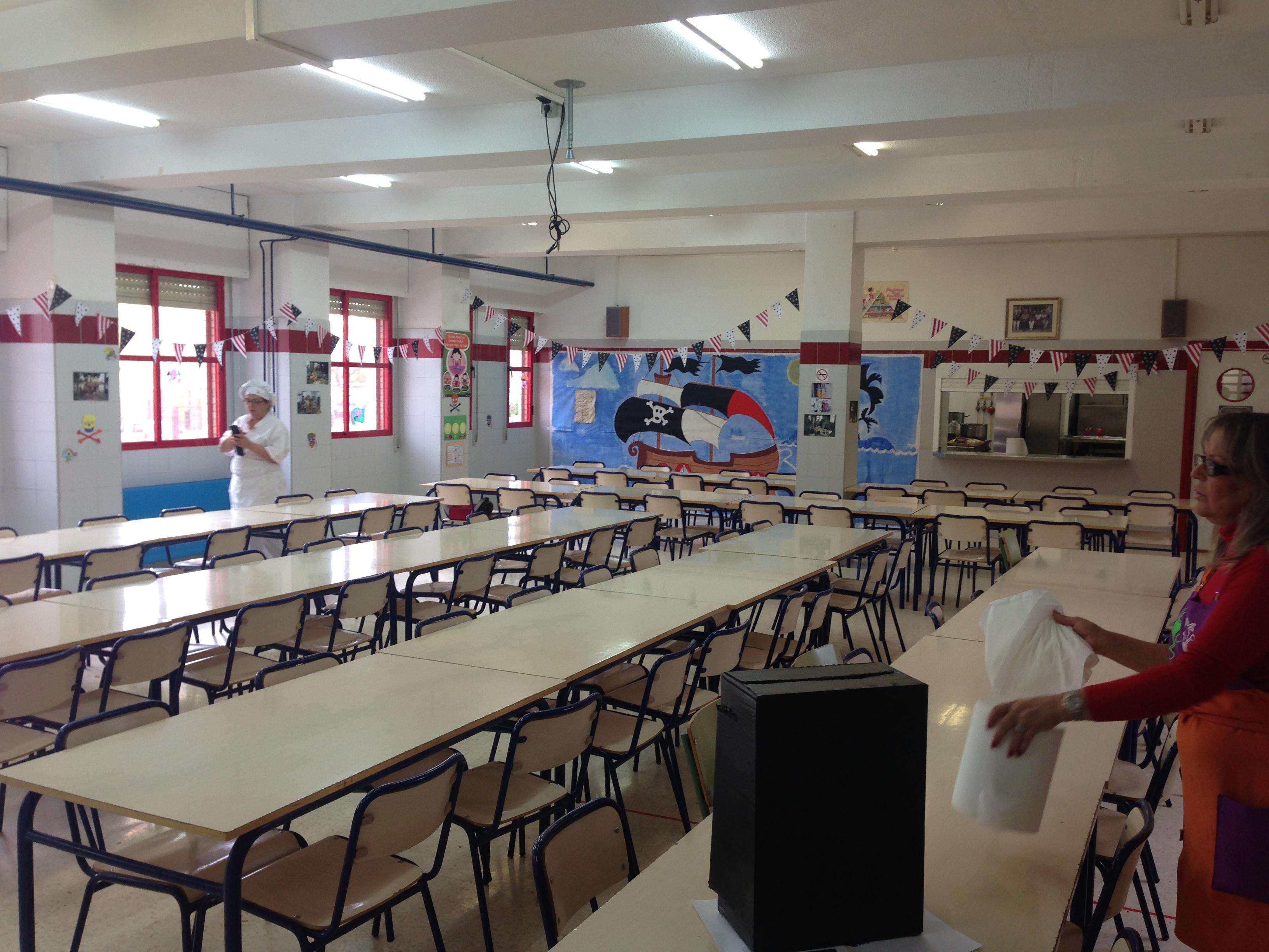 Comedor escolar colegio san francisco de as s de dolores for El comedor escolar