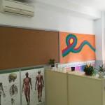 El centro dispone de 5 aulas (Infantil y Primaria)  con Aire acondicionado.