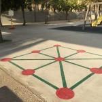 Juegos en el Pavimento de la zona de Recreo.